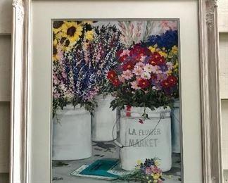 Joyce Sliffe Benner framed print.
