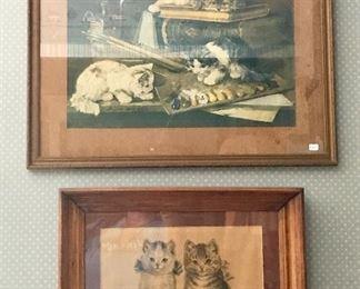 Vintage kitty prints!