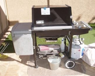 Weber Barbecue, With Tank & Cover