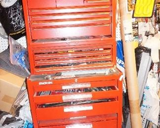 Stack-on tool box