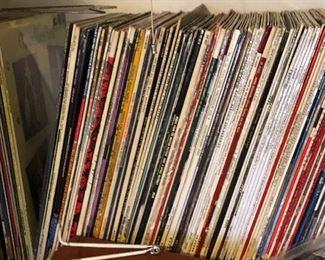 LP's including blues