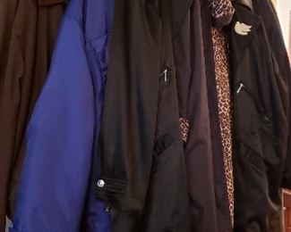Warm Winter Jackets in Excellent Shape....Just in time for the cold!