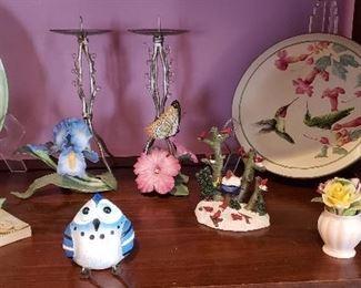 Lenox Birds and Plates