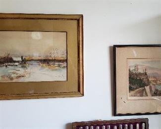 Vintage Watercolors