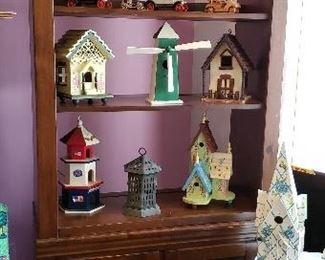 Assortment of Bird Houses