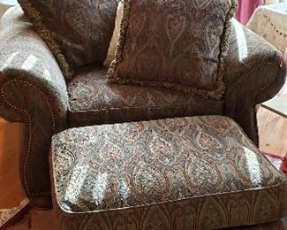 Comfy Chair and Ottoman
