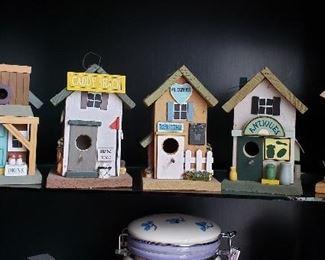 Bird House Collection
