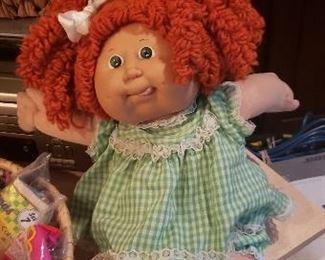 Cabbage Patch Dolls- vintage