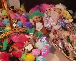 Large Collection of Trolls (small, medium and large)