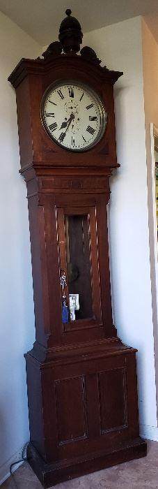 100+ year old Grandfather clock custom made