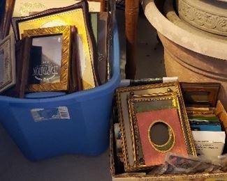 Frames of all kinds including Vintage