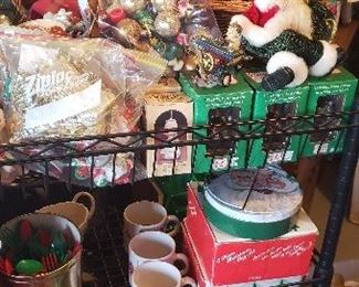 Assortment of Christmas Tree Ornaments including Vintage ones too!