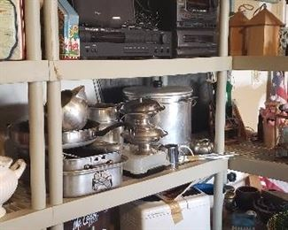 Kitchenware....pots and pans