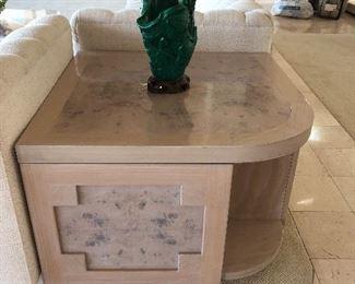Corner coffee table stone A Rudin for Gary Jon