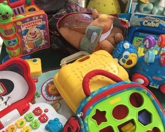 Toys, new and used
