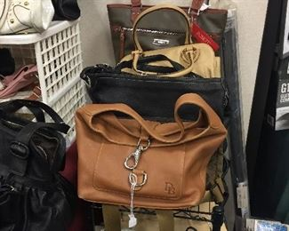Purses, new and used