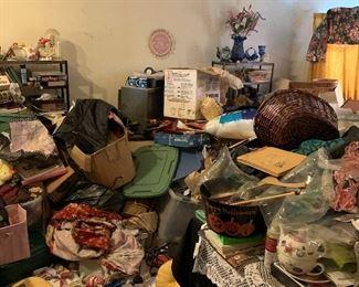 Hoarded Living Room