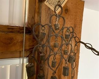 One of many of our wind chimes
