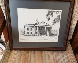 Jerry Miller Signed Lee County Courthouse