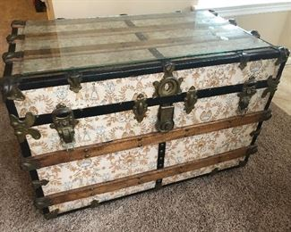 Fabric Covered Trunk