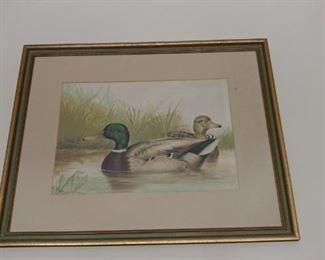 Duck print