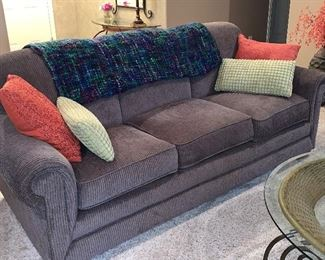 Sofa with matching love seat like new