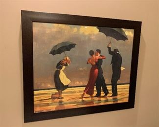 The Singing Butler art print by Jack Vetrianno