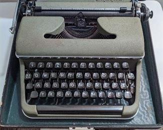 Vintage Olympic Typewriter circa 1950s