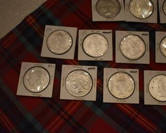 Many many years! Quite a few pre-1900 dates. Lots more silver coins than are shown here.