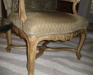 Beautifully detailed chair