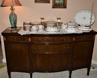 1935 Federal Revival Style Buffet by Mount Airy Chair Co.