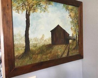 Oil paintings vintage
