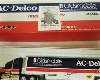 AC Delco oldsmobile 164 scale semi NHRA pro stock Warren Johnson