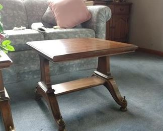 2 Coffee type tables