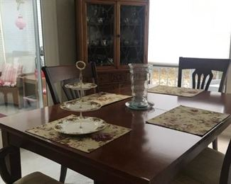 Chairs are Nichols and Stone set of 4.