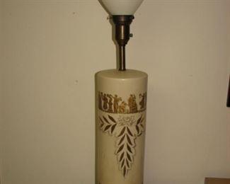 Greek lamp base