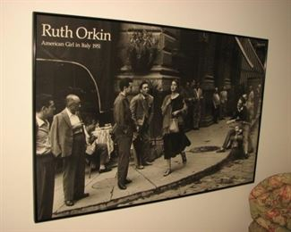 Ruth Orkin poster