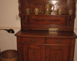 Breakfront, vintage cabinet