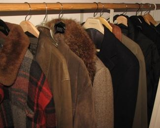 Name brand men's and women's winter jackets and coats