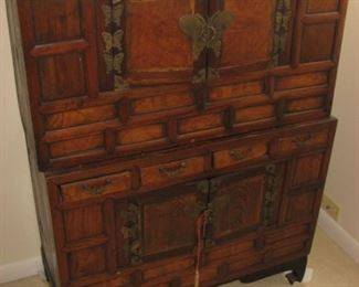 Two antique Chinese chests