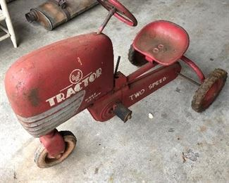 1950's AMF pedal tractor