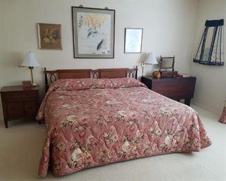 Lovely bedroom set including king size bed