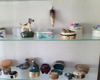 Snuff box collection