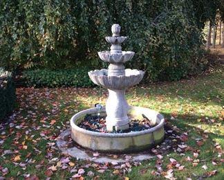Beautiful 5 piece fountain