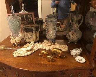 Collectible Porcelain and Glassware