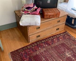 Scrub pine cabinet