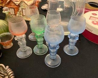 Bohemian glass cordial