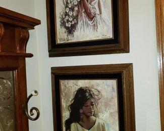 Native American Indian framed prints