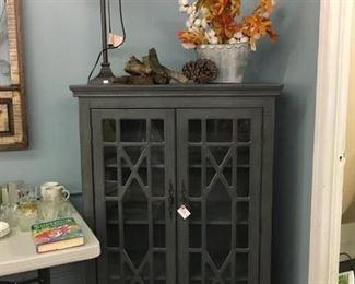 Gray Cabinet