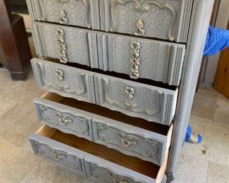 5 Drawer Dresser painted